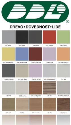 Lamino vzorník barev