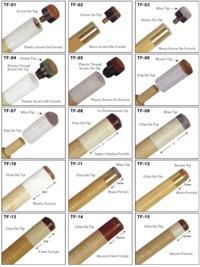 Různé druhy kostic a kůží
